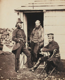 Officers on the staff of Lieutenant-General Sir George Brown, 1855