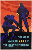 'The Most You Can Save is the Least They Deserve', 1940 (c)