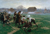 The Battle of Lexington, 19 April 1775