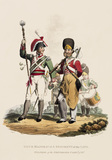 Drum Major of a Regiment of the Line and Pioneer of the Grenadier Company of D, 1812