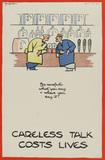 'Careless Talk Costs Lives', 1940