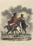 Heavy and Light Cavalry Cloaked, 1812