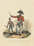 A Field Officer of Royal Engineers and a Private Sapper, 1812