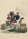 Heavy and Light Cavalry in Watering Order, 1812