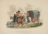 An Officer, Private and Driver of the Royal Waggon Train, 1812