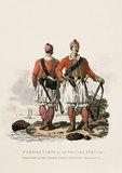 Privates of the Greek Light Infantry Regiment, 1812