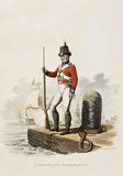 A Private of the Royal Marines, 1812