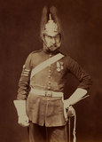 Sergeant-Major Stewart, 5th (Princess Charlotte of Wales's) Dragoon Guards, 1856