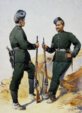 Members of the 39th Garhwal Rifles, 1908 (c)