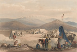 'The Encampment at Dadur', 1839