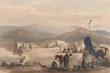 'The Encampment at Dadur', 1839