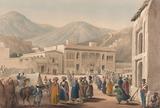 'The Durbar-Khaneh of Shah Shoojah-ool-Moolk, at Cabaul', 1840 (c)