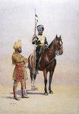 Mysore Transport Corps, Mysore Lancers, 1910