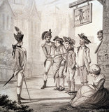 Recruits, 1780