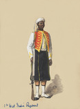 Private in full dress, 1st West India Regiment, 1900