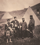 Officers of the 42nd Regiment of Foot, 1855 (c)