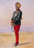 Sir Umed Singh Bahadur, 42nd Deoli Regiment, 1908 (c)