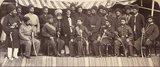The Amir Yakub Khan and SIrdars of Kabul, 1879