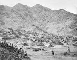 'Kutchi (Gipsy) Village and encampment near Dakka', 1878