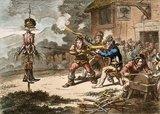 'United Irishmen in training', 1798