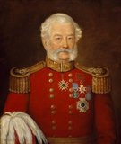 Major General Sir Abraham Roberts, Army Staff, 1854 (c)