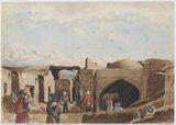 'Khelat-i-Ghilzai. Candahar Gate', 1879 (c)
