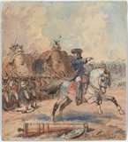Clive at Plassey, 1757