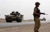 Black Watch Battle Group move north, Operation BRACKEN, Iraq, 2004