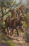 6th Dragoon Guards (The Carabiniers), A Dangerous Path, 1905 (c)