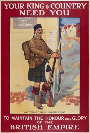 'Your King & Country Need You', 1914