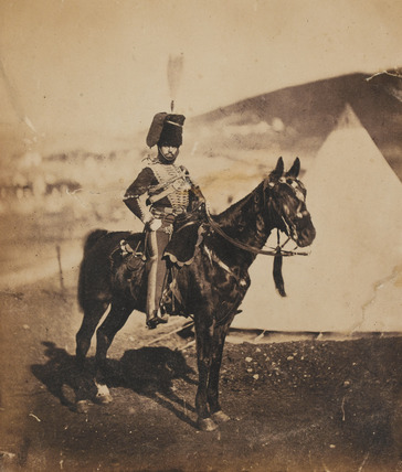 Cornet Henry John Wilkin, 11th (or Prince Albert's Own) Hussars, 1855