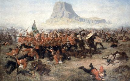 The Battle of Isandlwana, 22 January 1879