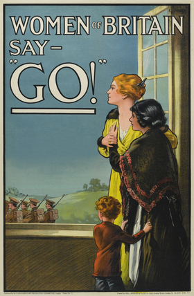 'Women of Britain Say - Go!', 1915