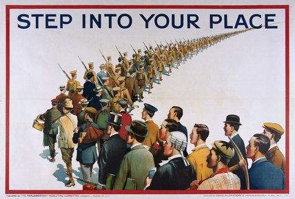 'Step Into Your Place', 1915