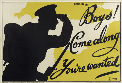 'Boys! Come along. You're wanted', 1915
