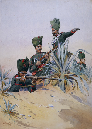 125th Napier's Rifles, 1908 (c)