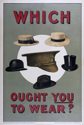 'Which Ought You to Wear?', 1915
