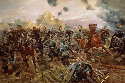 The First VC of the European War, 1914. Captain Francis Grenfell, 9th Lancers at Audregnies, 24 August 1914