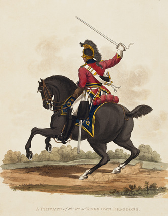 A Private of the 3rd or Kings Own Dragoons, 1812