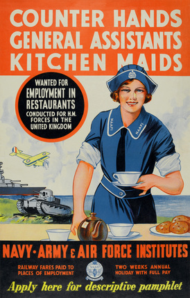 'Counter Hands General Assistants Kitchen Maids', 1930 (c)