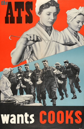 'The ATS wants Cooks', 1940 (c)