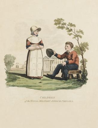 Children of the Royal Military Asylum, Chelsea, 1812