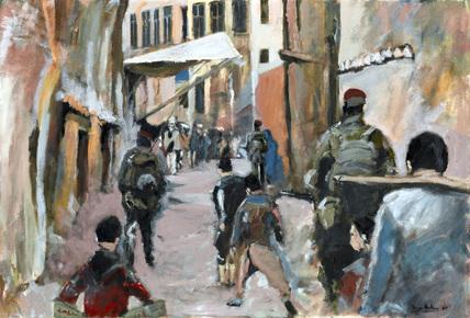 The Fourth Man. Patrol - Kabul, Afghanistan, 2001-2002 (c)