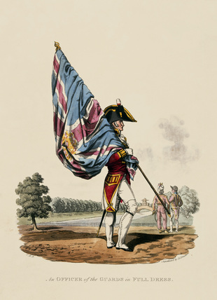 An Officer of the Guards in Full Dress, 1812