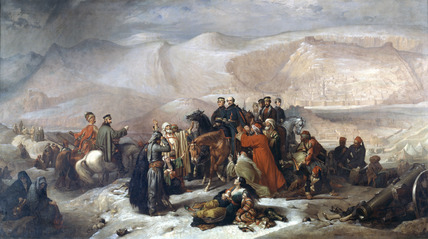 The Capitulation of Kars, 26 November 1855