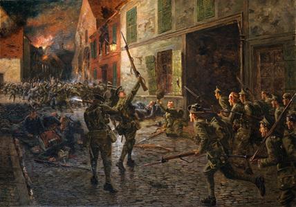 Landrécies, 25 August 1914