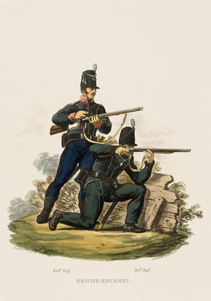 British Riflemen, 1812