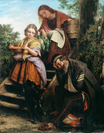 The Soldier's Return, 1861