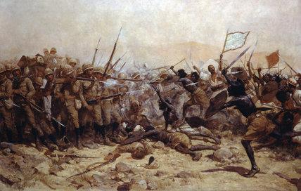 The Battle of Abu Klea, 17 January 1885