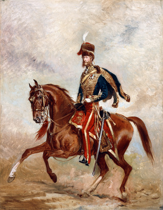 Lieutenant-Colonel James Thomas Brudenell, 7th Earl of Cardigan, 1854 (c)